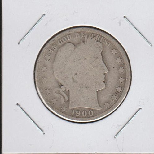 1900 Barber or Liberty Head (1892-1915) Half Dollar About Good