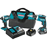 Makita XT262T 18V LXT Lithium-Ion Cordless 2-Pc. Combo Kit (5.0Ah)