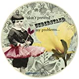 Enesco Holy Crap Coaster Set by Erin Smith, Don't Pretend, 0.25-Inch