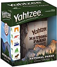 YAHTZEE National Parks Travel Edition   Classic Yahtzee Dice Game with a National Parks Theme   Perfect Travel Game for Fami