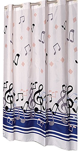 Hookless Fabric Shower Curtain curtain product image