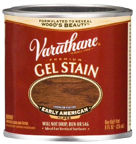 Varathane 224502 Premium Gel Stain, Half Pint, Early American by Rust-Oleum