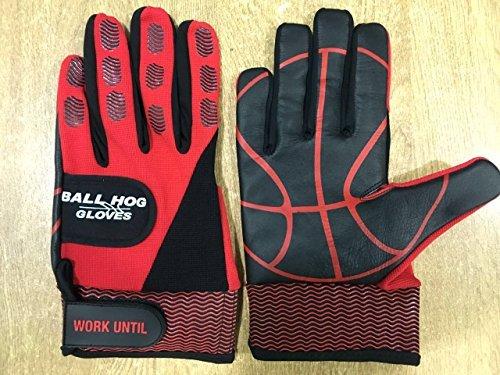 Ball Hog Gloves (Weighted X - Factor Hand Grip Strengthener (XL (H.S/College))