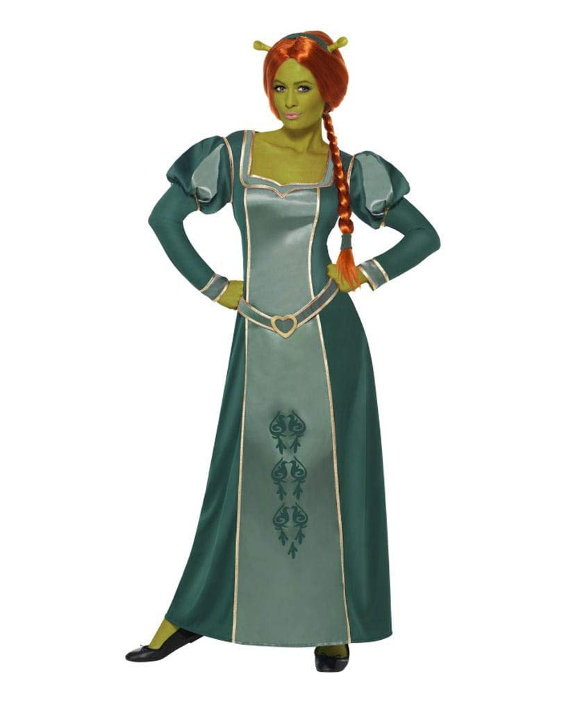 Horror-Shop Prinzessin Fiona Kostüm L