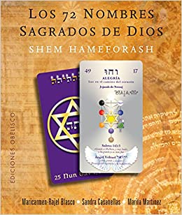 Los 72 Nombres Sagrados de Dios. Libro + 73 Cartas ...