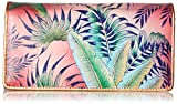 Anuschka Hand Painted Rfid Blocking Accordion Flap Wallet Tropical ISLAND Wallet, Tri-Tropical Island, One Size