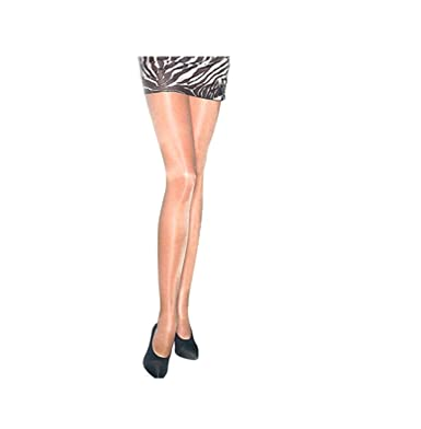 bf4f60c8cbf Mytoptrendz® Women s Shine Tights 15 Denier Sheer Super Shine Tights Super  Shiny Pantyhose Nude -