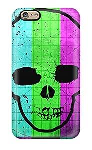 Hot Design Premium RNb2178iXCz Cases Covers Iphone 6 Protection Cases(tv Skull)