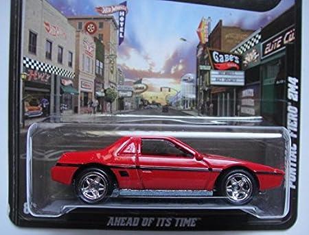 2013 Hot Wheels Boulevard Cinza E Laranja/'84 Pontiac Fiero 2M4 Real Riders