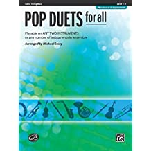 Pop Duets for All: Cello/Bass