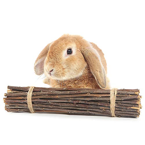 Product image of Niteangel Two Bundle of Apple Chew Sticks for Rabbits, Guinea Pigs, Parrots, Squirrel and Chinchilla