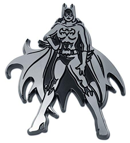 Elektroplate Batman Batgirl Chrome Emblem -