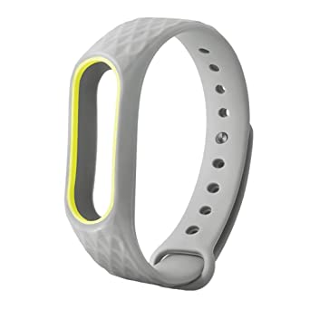 For XIAOMI MI Band 2 Original Silicon Wrist Strap WristBand Bracelet Replacement