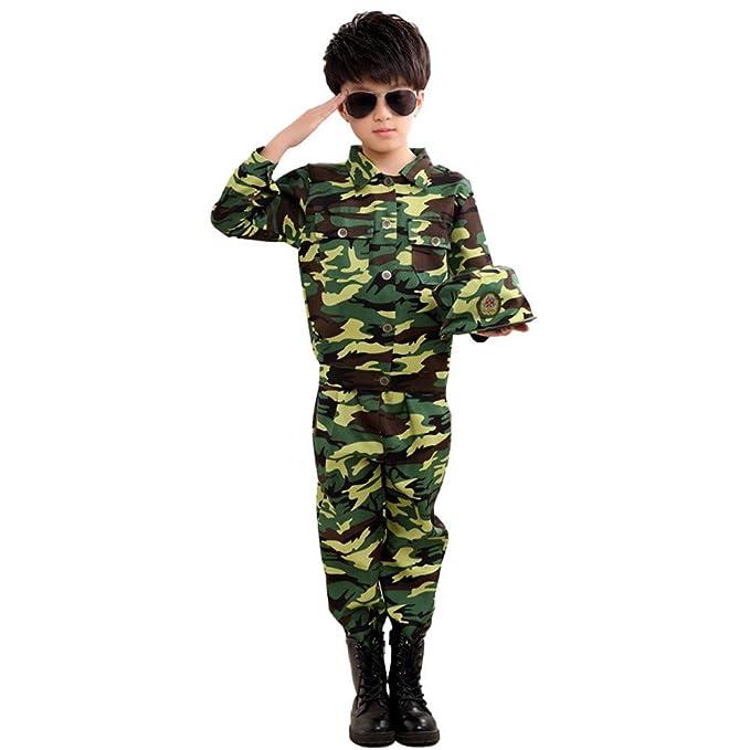 Amazon.com: Disfraz de soldado de combate para niños ...