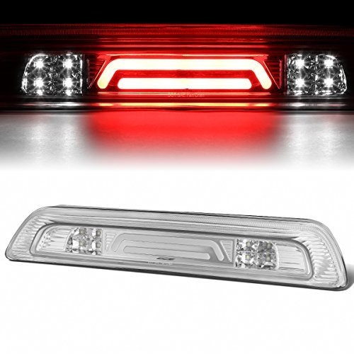 - For Tundra 3D LED Bar 3rd Third Tail Brake Light Rear Cargo Lamp (Chrome/Clear)