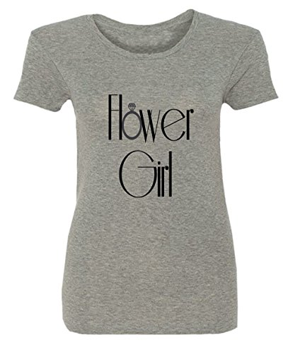 Hower Girl Wedding Party Damen T-shirt