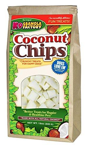 Image of K9 Granola Factory Coconut Chips Dog Treat, 12 oz