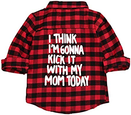 Unisex Plaid Flannel Shirt Because Im Mother Thats Why