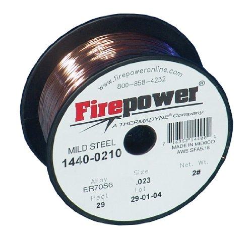 Thermadyne 1440-0210 Firepower 023-70S6 2-Pound Firepower Welding Wire