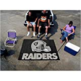 "Fan Mats Oakland Raiders Tailgater Rug, 60"" x 72"""