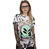 Homemaple Summer New Women T Shirt Fashion Girls Punk Tee Tops 3D Printing Loose Short Sleeve Streetwear Hip Hop Tshirt (XXL/XXXL, BAM002)