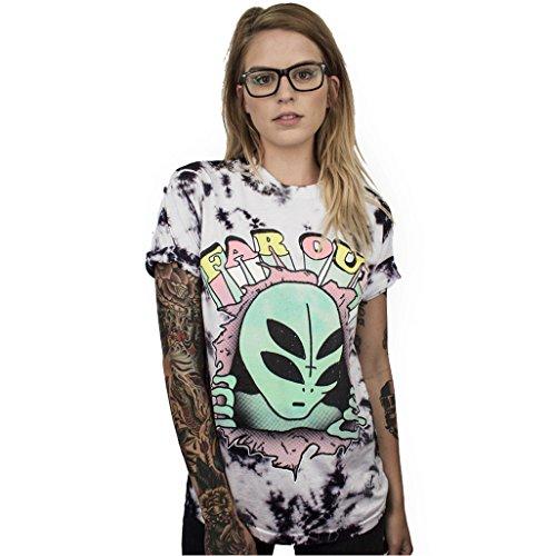 Homemaple Summer New Women T Shirt Fashion Girls Punk Tee Tops 3D Printing Loose Short Sleeve Streetwear Hip Hop Tshirt (XXL/XXXL, BAM002) by Homemaple