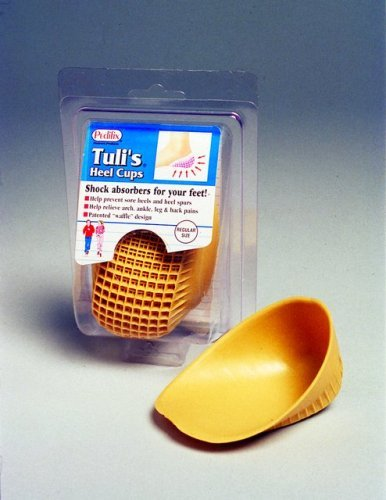 Tulis Classic Heel Cups, Large (Over 175lbs) - Pair