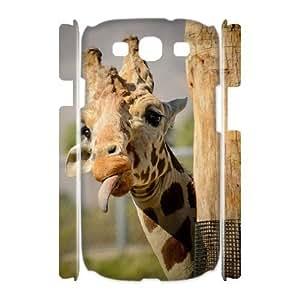 Giraffe Phone Case For Samsung Galaxy S3 I9300 [Pattern-4]