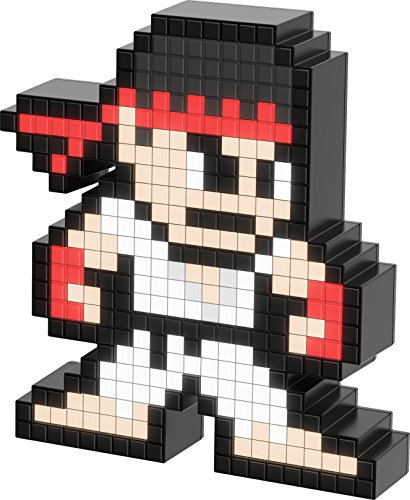 PDP Pixel Pals Capcom Street Fighter Ryu Collectible Lighted Figure - Not Machine Specific;