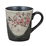 Kutani Yaki(ware) Coffee Mug Sakura