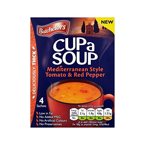 Mediterranean Cup - Batchelors Cup A Soup Mediterranean Style Tomato & Red Pepper 108g