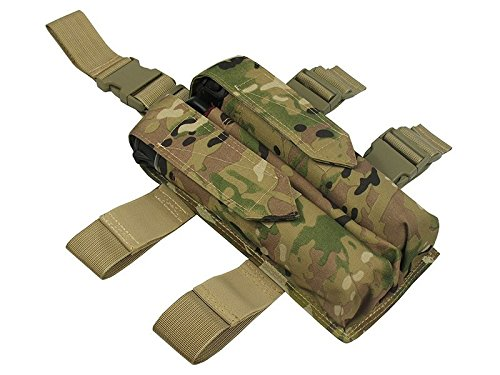 4 Tubes Harness Paintball (M.O.L.L.E POUCH ON THE WAIST UNDER THE FOUR TUBES AT 140-160 BALLS paintball (Multicam) (Multicam))
