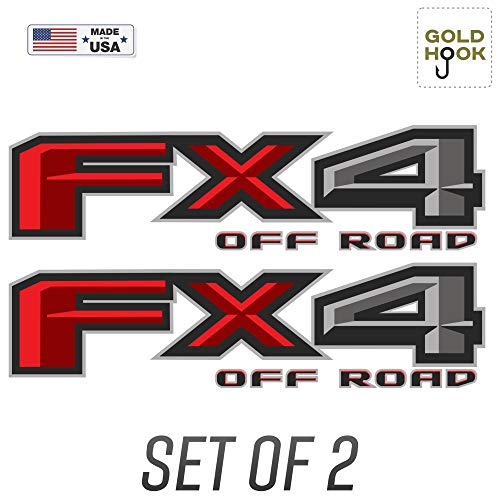 FX4 Off Road Decal | Replacement Sticker | Ford F 150 | Bedside Off Road Emblem for 4x4 Truck (2015-2018)