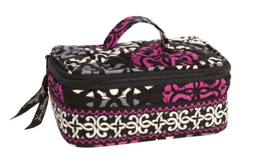 (Vera Bradley Jewelry Case in Canterberry Magenta)