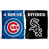 WinCraft Chicago White Sox and Chicago Cubs House Divided Flag