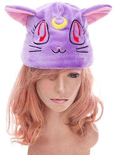 Moon Luna Cat Sailor Costume (De-Cos Sailor Moon Super S Accessory Black Cat Luna Purple Plushy)