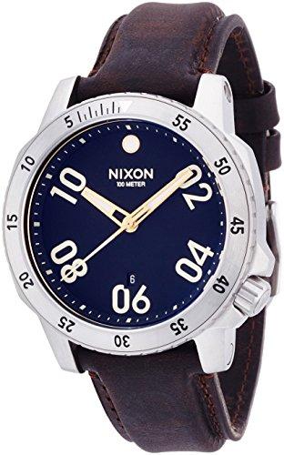[ニクソン]NIXON RANGER LEATHER: BLACK/BROWN NA508019-00 メンズ