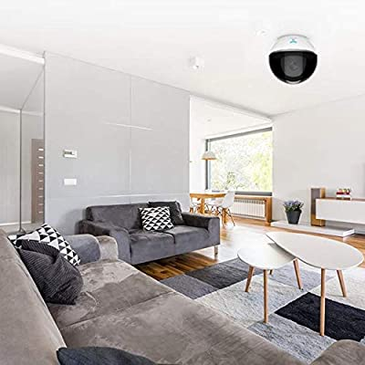 EZVIZ Dome Camera, 1080p HD Wireless IP Security Camera with Night Vision, Motion Detection and Two-Way Audio, Pan/Tilt/Zoom Indoor Surveillance System for Pet Baby Monitoring-Cloud Service Available from EZVIZ