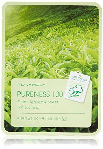 100 green tea mask sheet