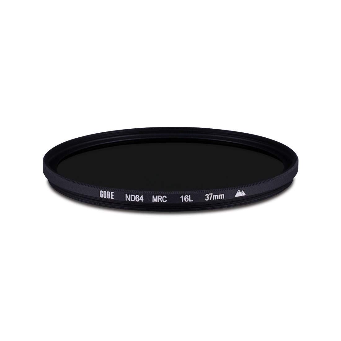 Gobe ND64 62mm MRC 16-Layer ND Filter