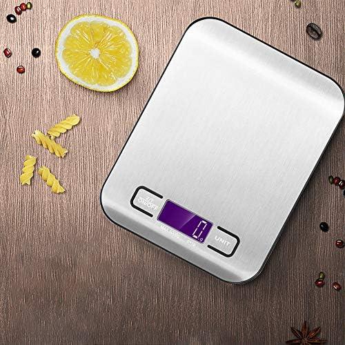 ZXYYX-Piastra Cucina,Bilancia da Cucina Elettronica,Cucina,Professionale,Alta Precisione Misurazione.