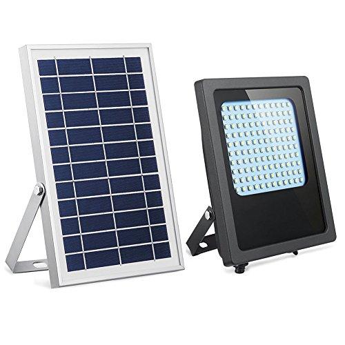 Solar Powered Led Flood Light,HiJi 120Leds 800Lumen IP65