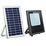Solar Powered Led Flood Light,HiJi 120Leds 800Lumen IP65...