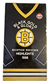 Boston Bruins Black, Gold & Glory 1988 Highlights (VHS Tape) Gulf