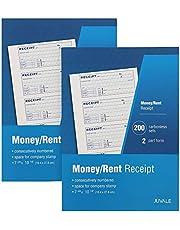 Juvale Petty Cash Sales Receipt Book 2 - Pack Carbonless