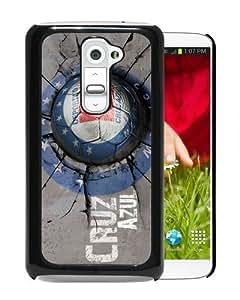 Unique And Durable Custom Designed Case For LG G2 With CDSC Cruz Azul 2 Black Phone Case