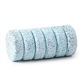 Eforcar 1 juego de parabrisas de coche atención burbujas Tablets compacto cristal arandela limpiador limpiaparabrisas de pestañas detergente sólido ...
