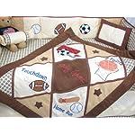 SoHo-Baby-Crib-Bedding-10Pc-Set-Game-Day