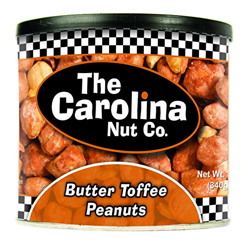 Ridge Butter - The Carolina Nut Company Peanuts, Butter Toffee, 12 Ounce