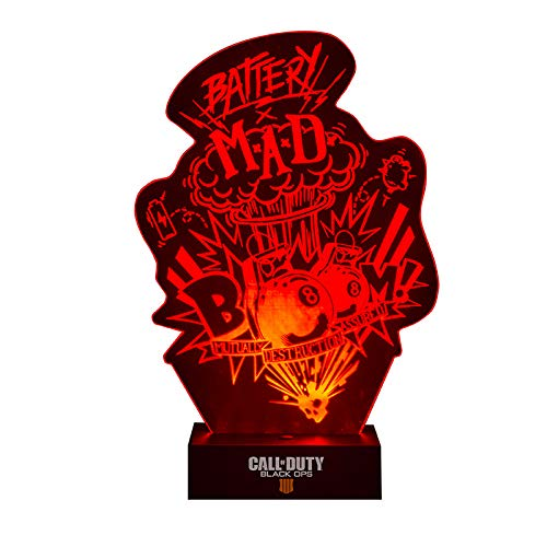 Price comparison product image Paladone Call of Duty Black Ops 4 Acrylic Light Battery MAD Products Lamps